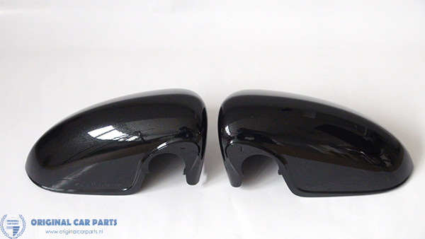NEW PAINTED SEAT LEON MK3 GENUINE OE LEFT WING MIRROR COVERS 2013-2017