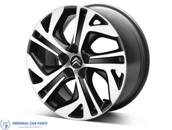 Citroën Alloy Wheels Set 17 Zephyr Original Car Parts