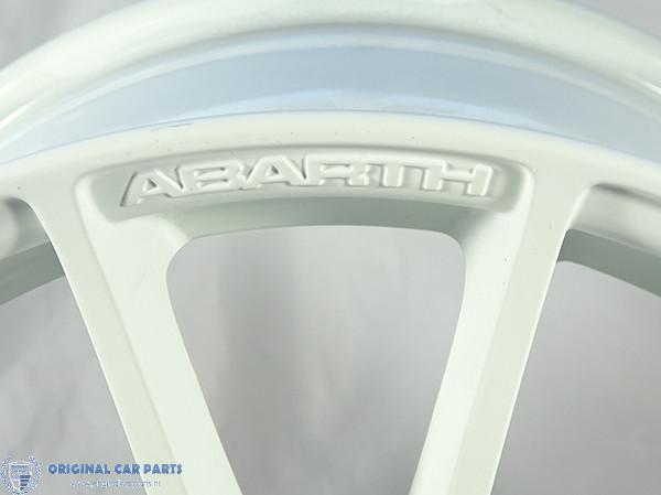 Abarth Punto Alloy Wheel 17 Esseesse White Original Car Parts