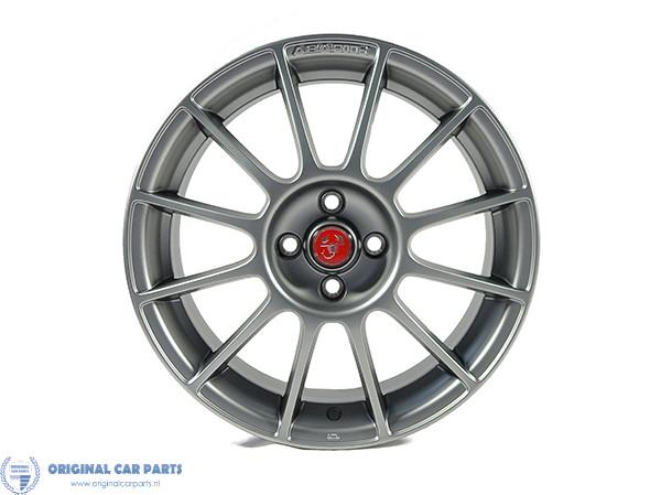Abarth Punto Alloy Wheel 17 Esseesse Titanium Color