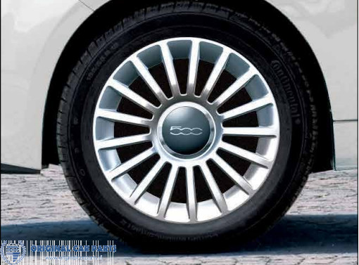 Fiat 500500c Alloy Wheel Kit 16 Original Car Parts