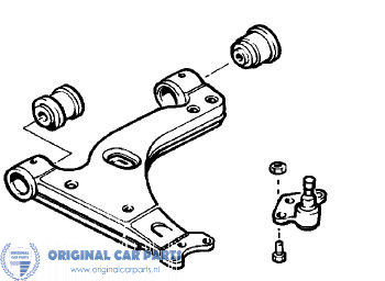 opel astra g zafira a wishbone right original car parts 2014 Opel Cars opel astra g zafira a wishbone rechts 90498736