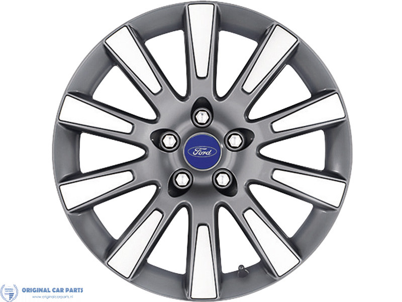 Ford Alloy Wheel 17 10 Spoke Design Anthracite Machined