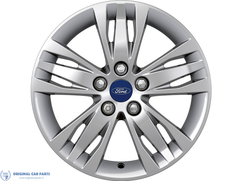 Ford Alloy Wheel 16 5 X 3 Spoke Design Silver Original