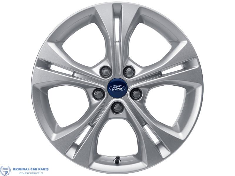 Ford Alloy Wheel 17 5 X 2 Spoke Design Sparkle Silver
