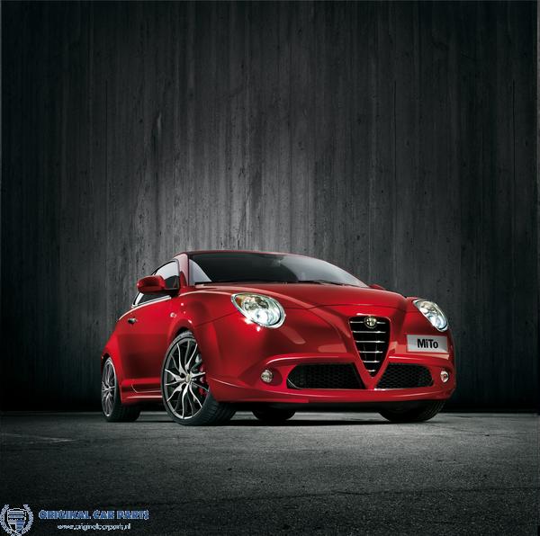 Alfa Romeo Mito Front Bumper Sport Spoiler