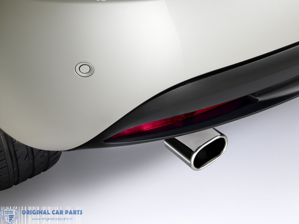 Box with Tail Pipe//Pipeline Exhaust For Lancia Y10 GFT231 Rear Silencer FT231