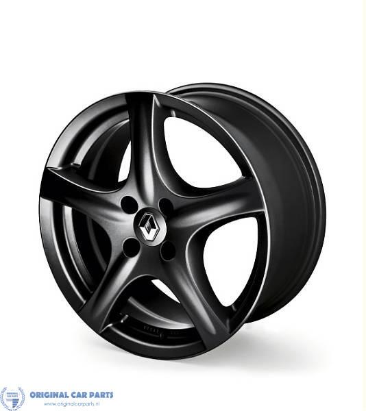 Renault Alloy Wheel Far Away 15 Dark Gray Original Car Parts