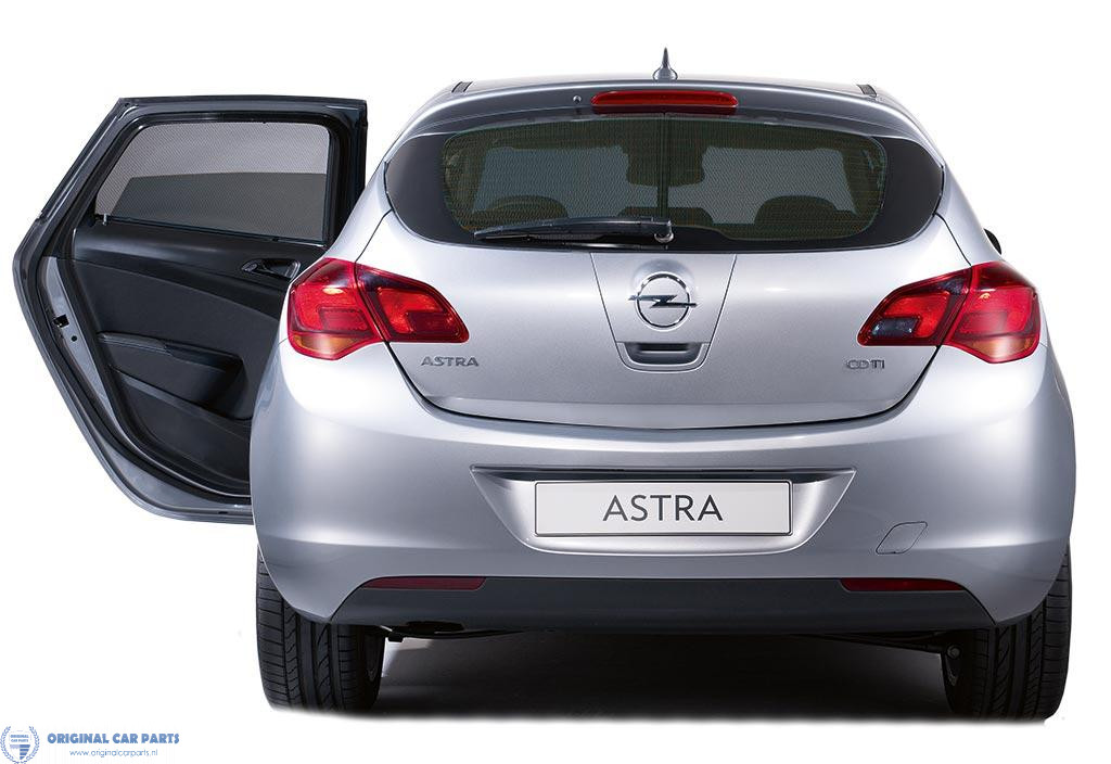 Opel Astra J Gtc Sun Blindes For Rear Side Windows And Rear Window Original Car Parts
