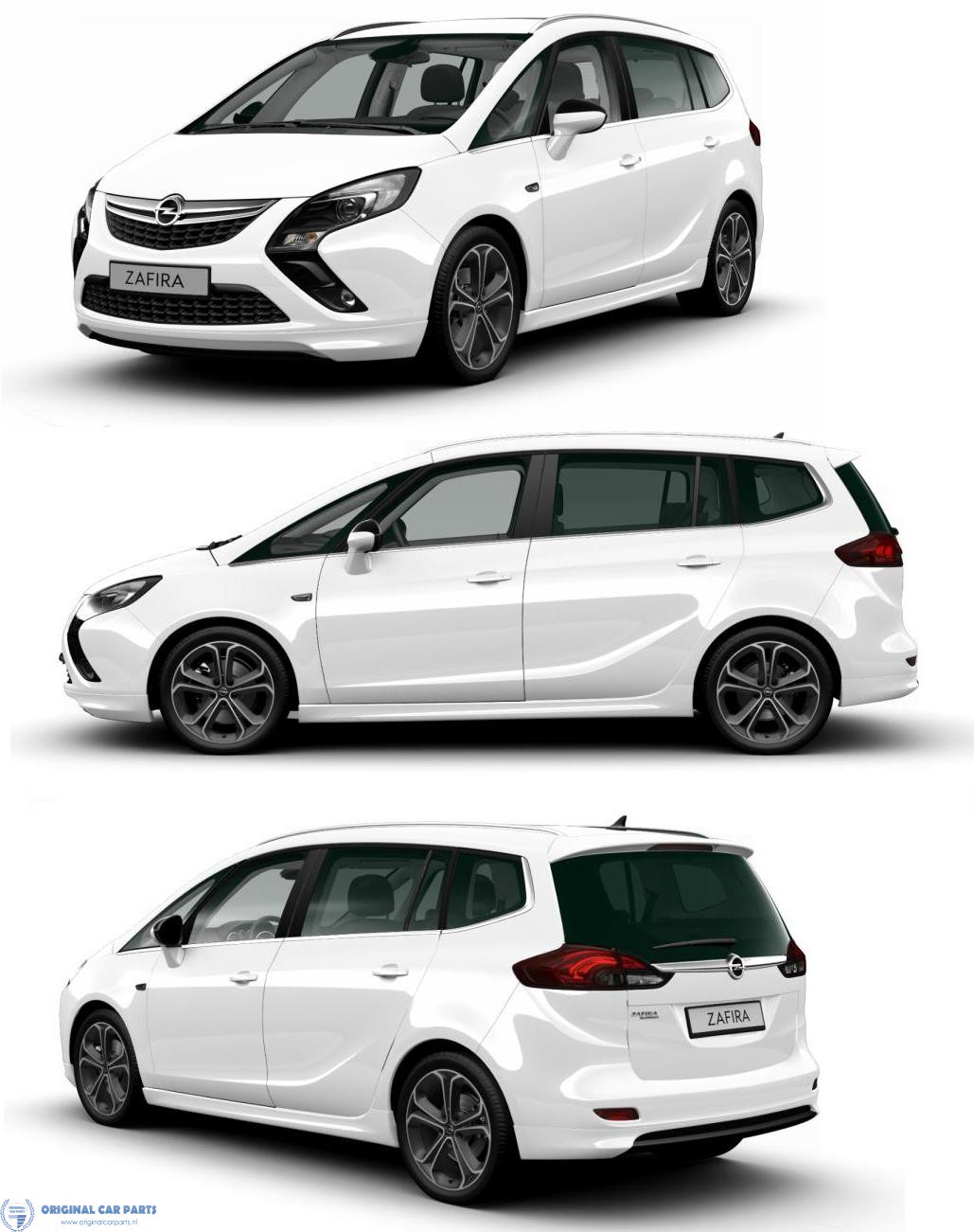 opel zafira tourer opc line kit up to facelift without. Black Bedroom Furniture Sets. Home Design Ideas