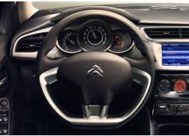 citroen-c3-2010-steering-wheel-leather-aluminium-4109NT