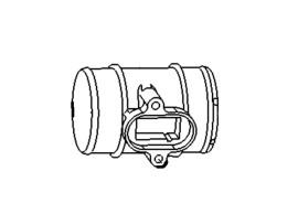 opel-air-flow-meter-verloopstuk-13307079