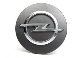 Opel hub cap 59mm Technical Grey 13373329