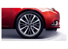 Opel Corsa E lichtmetalen velg, 8-spaaks, 17inch, titanium / gepolijst 13402971