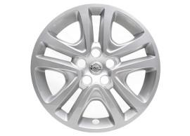 """Opel Astra K wieldop 16"""" zilver 13409779"""