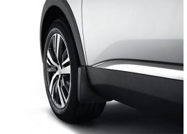 Peugeot 3008 (2016 - ..) spatlappen achter (standaard wielkastverbreders) 1615101880
