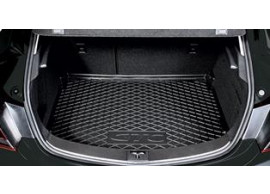 Opel Astra GTC LHD 2011-2015 Boot mat Black Tailored Boot Mat Standard