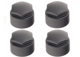 4F060117301C kapjes voor slotbouten zwart