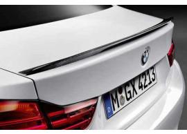 51622334545 BMW 4-serie F32 M Performance kofferbakspoiler carbon