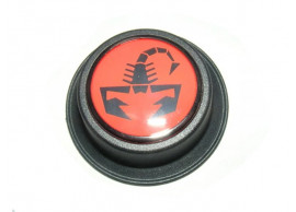 Abarth naafkappen dop zwart-rood 51893037