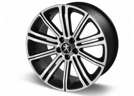 """Peugeot alloy wheel Original 18"""" Full Pyrite Grey"""
