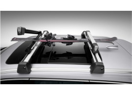 Volvo ski carrier aluminium, 4 pairs of skis (500 mm loading width) 31650225