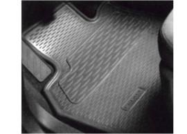 Renault Espace 2002 - 2015 rubber vloervloermatten, 2e zitrij 7711221522