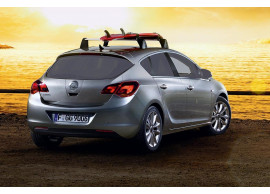 Opel Astra J surfboard carrier