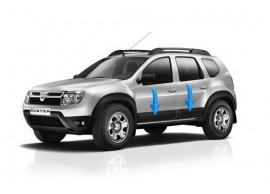 808725725R Dacia Duster 2014 - 2018 side doors protection kit