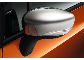 Renault Captur 2013 - 2017 / Clio 2012 - .. chromen spiegelkappen 8201385440