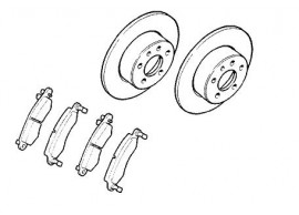 opel-brake-discs-kit-rear-93190173