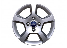 ford-b-max-2012-2018-alloy-wheel-16-inch-5-spoke-design-sparkle-silver 1933727