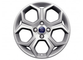 ford-b-max-2012-2018-alloy-wheel-17-inch-5-spoke-y-design-silver 1812531