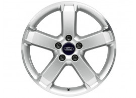 ford-alloy-wheel-17-inch-5-spoke-design-silver 1384604