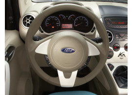 ford-ka-09-2008-05-2014-leather-steering-wheel-dark-florida-beige-leather-with-pearl-white-bezel 1573438