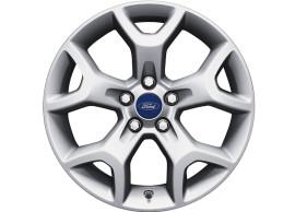 ford-kuga-2008-10-2012-alloy-wheel-17-inch-5-spoke-y-design-silver-machined 1754584