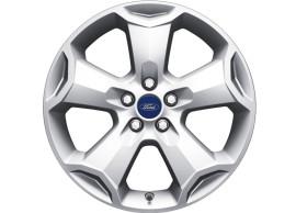 ford-kuga-2008-10-2012-alloy-wheel-18-inch-5-spoke-design-silver 1552736