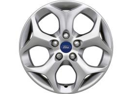 ford-alloy-wheel-16-inch-5-spoke-y-design-silver 1826218
