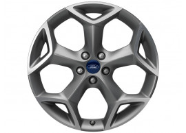 ford-alloy-wheel-19-inch-5-spoke-y-design-sparkle-silver-machined-front 1892461