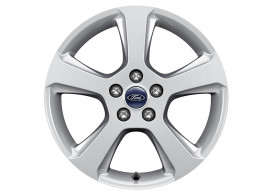 ford-alloy-wheel-17-inch-5-spoke-design-sparkle-silver 1880377