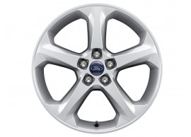 ford-alloy-wheel-18-inch-5-spoke-design-silver 1859244