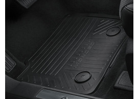 ford-mondeo-09-2014-floor-mats-rubber-rear-black 1890125