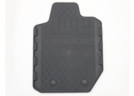 ford-ranger-11-2011-floor-mats-rubber-rear-black-for-single-cab 5238445