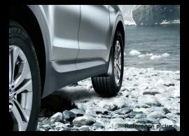 B8460ADE10 Hyundai Grand Santa Fe (2013 - 2019) mud flaps kit, front