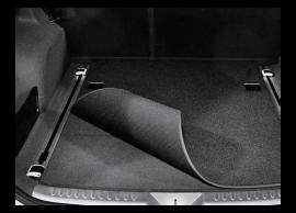 B8120ADE00 Hyundai Grand Santa Fe (2013 - 2019) trunk mat