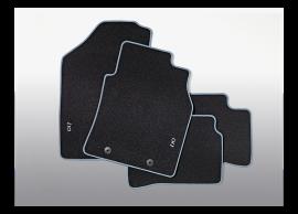 B9143ADE00BLB Hyundai i10 (2014 - 2017) floor mats, velour with blue accent, LHD