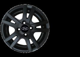 "B9400ADB00BKTH Hyundai i10 (2017 - ..) winter set - 14"" aluminium with TPMS - Hankook tyres"