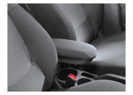 1J161ADE00 Hyundai i20 3-drs (2012 - 2015) armrest with a storage box, LHD