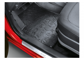 1J131ADE00 Hyundai i20 3-drs (2012 - 2015) floor mats, all weather, LHD