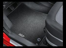 1J143ADE05G Hyundai i20 3-drs (2012 - 2015) floor mats, velour, GO! special edition, LHD